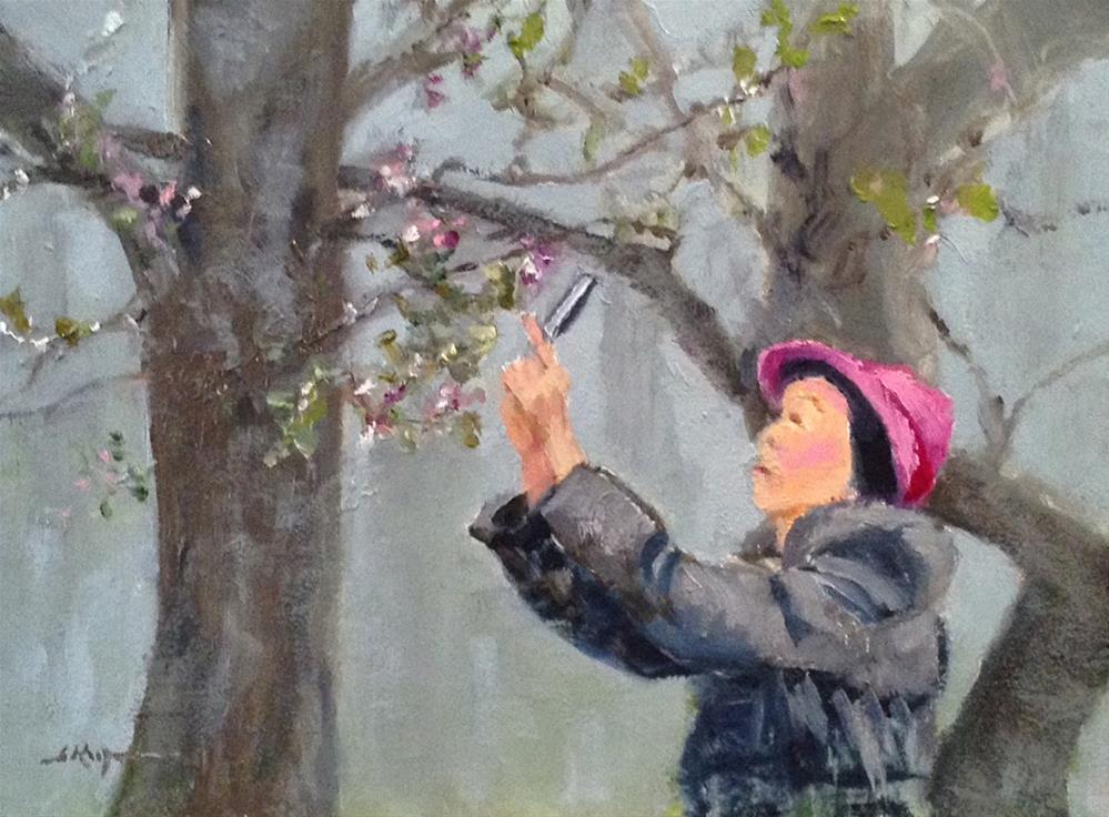 """First Blooms"" original fine art by Shelley Koopmann"