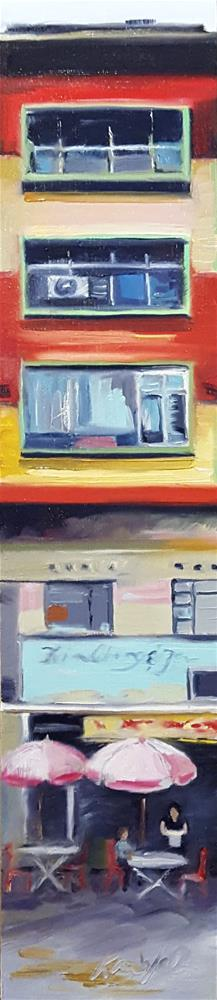 """Stripes in Kuala Lumpur"" original fine art by Karen Weber"