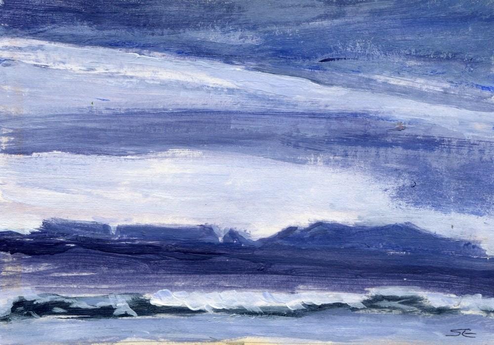 """Deceptive Calm"" original fine art by Stanley Epperson"