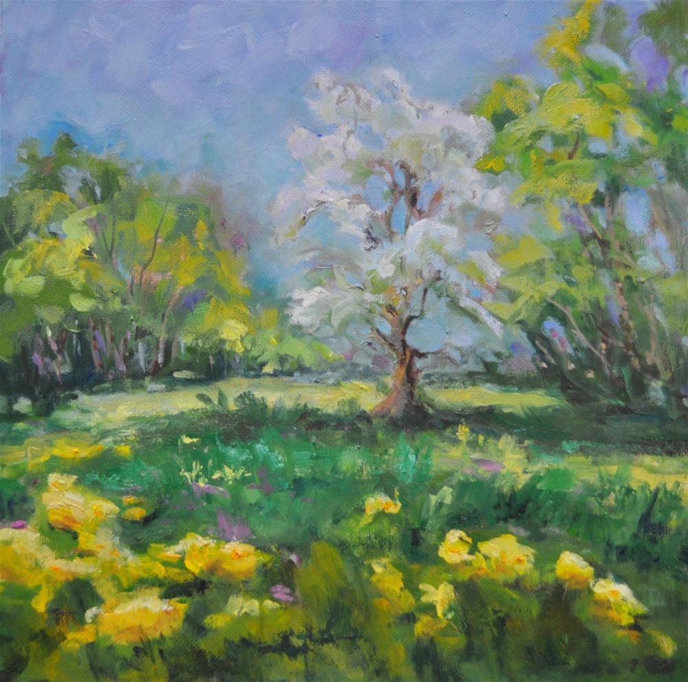 """The Light Sparkles"" original fine art by Catherine Crookston"