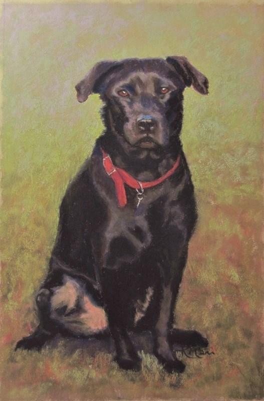 """Bracken"" original fine art by Ruth Mann"