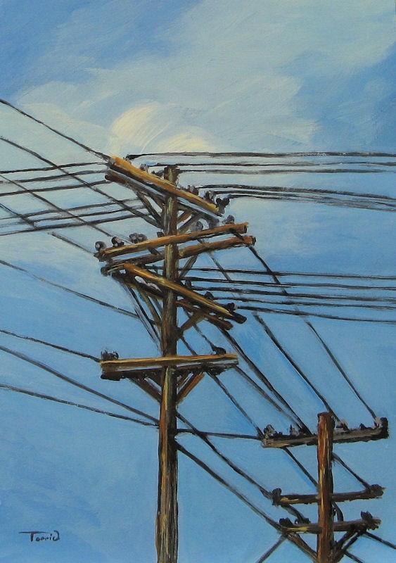 """Communication"" original fine art by Torrie Smiley"