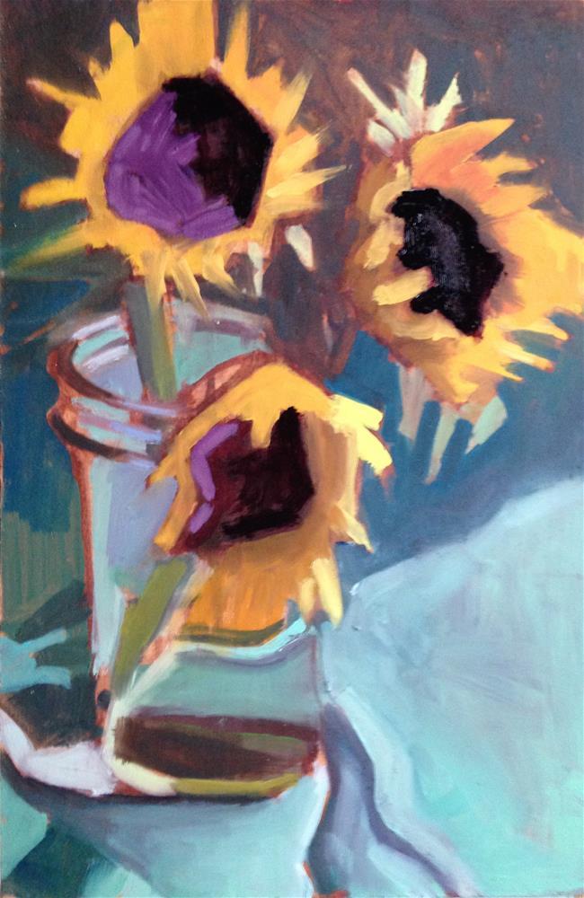 """Boys of Summer In A Jar"" original fine art by Pamela Hoffmeister"
