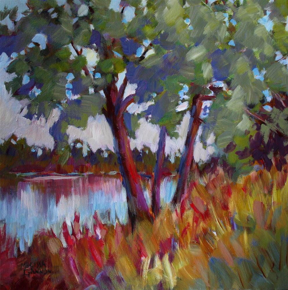 """View"" original fine art by Melissa Gannon"