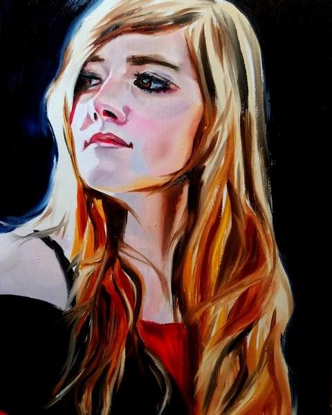 """Crown in Her Soul"" original fine art by Crystal Cook"