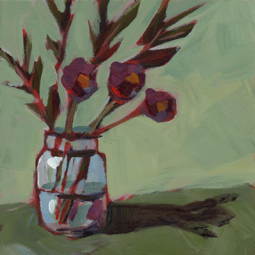 """0243: Remainders"" original fine art by Brian Miller"
