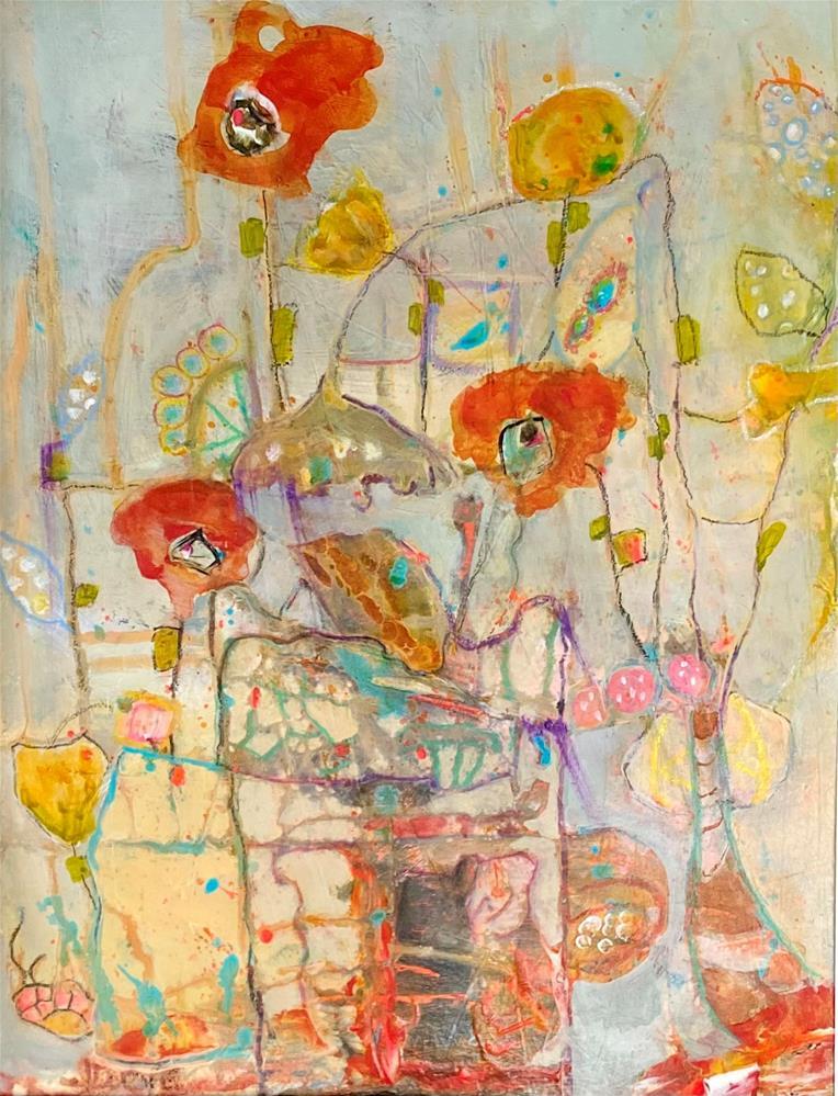 """DO YOU WANNA DANCE"" original fine art by Judie Mulkey"