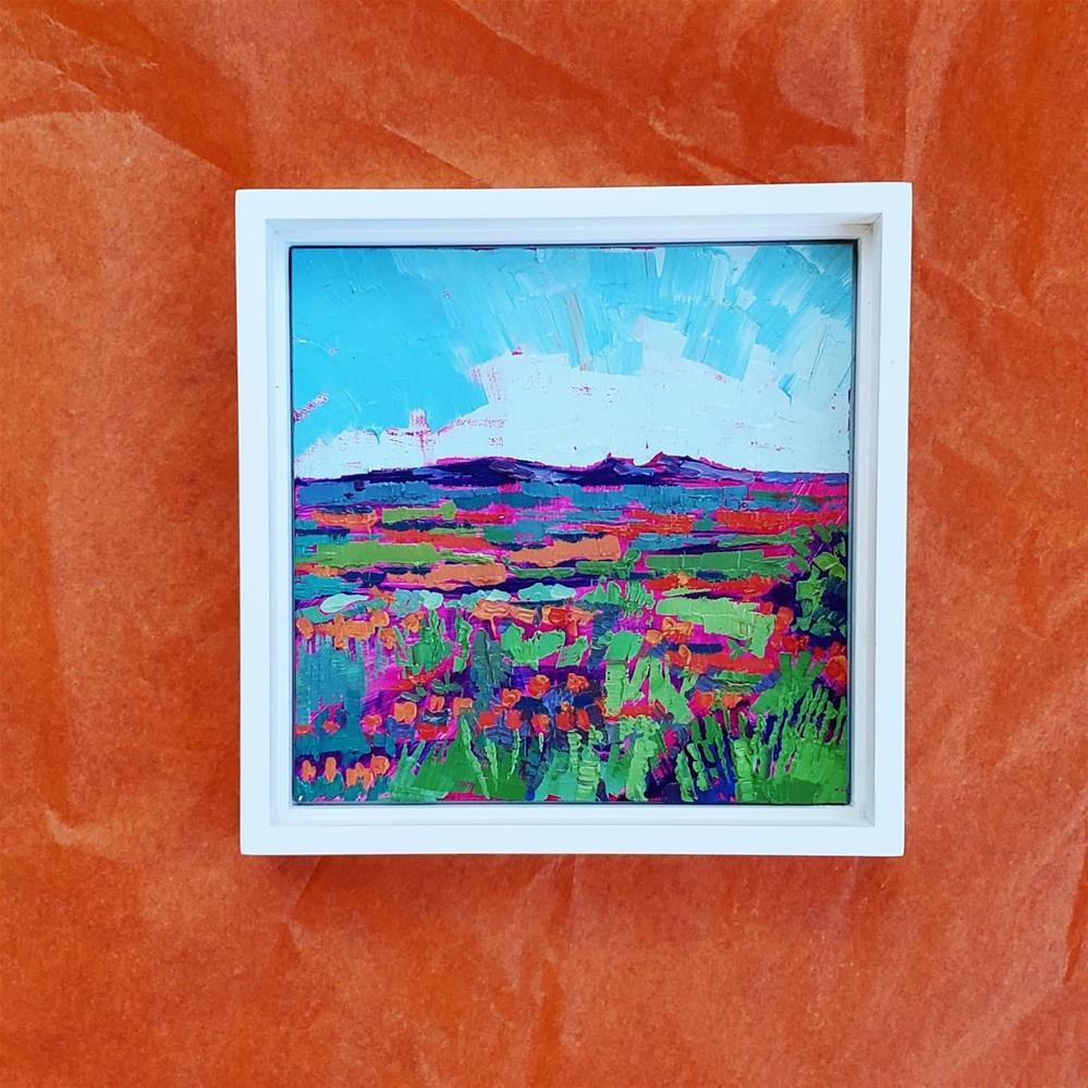 """Valley of Flowers"" original fine art by Bhavna Misra"
