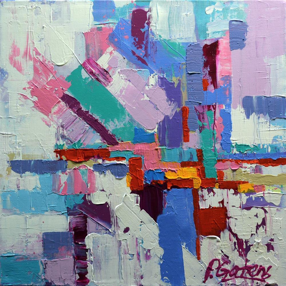 """Map to Candyland"" original fine art by Pamela Gatens"