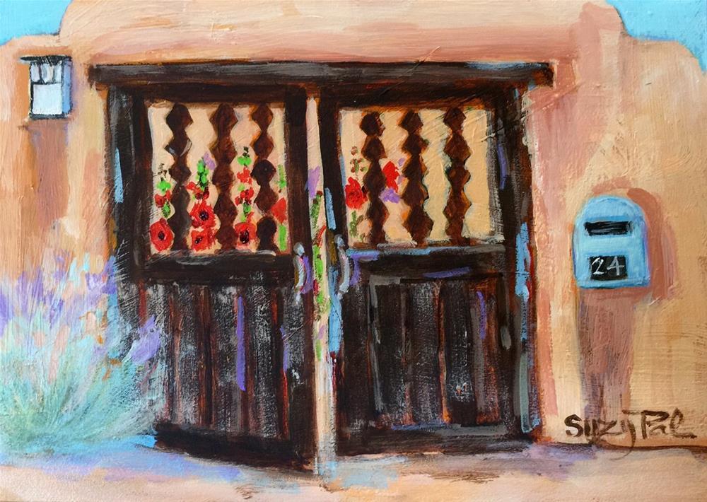 """Santa Fe Day 24"" original fine art by Suzy 'Pal' Powell"