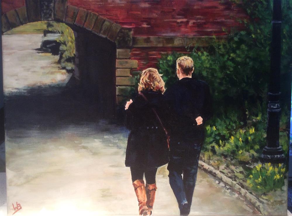 """Facing Life Together"" original fine art by wendy black"