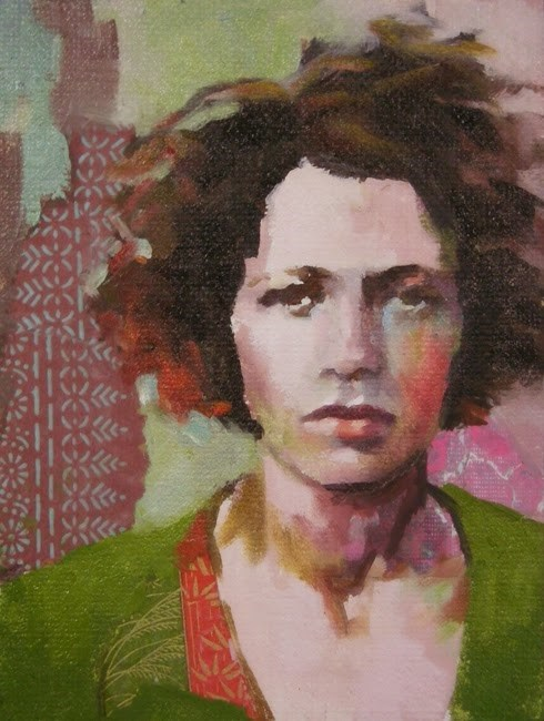 """""""Windblown"""" original fine art by Katie Wilson"""