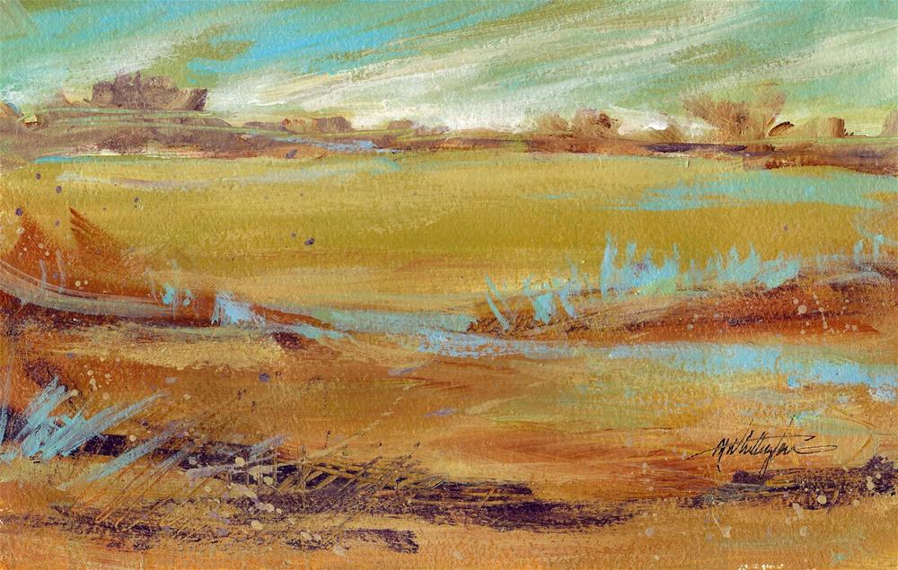 """Southwest landscape"" original fine art by Margie Whittington"