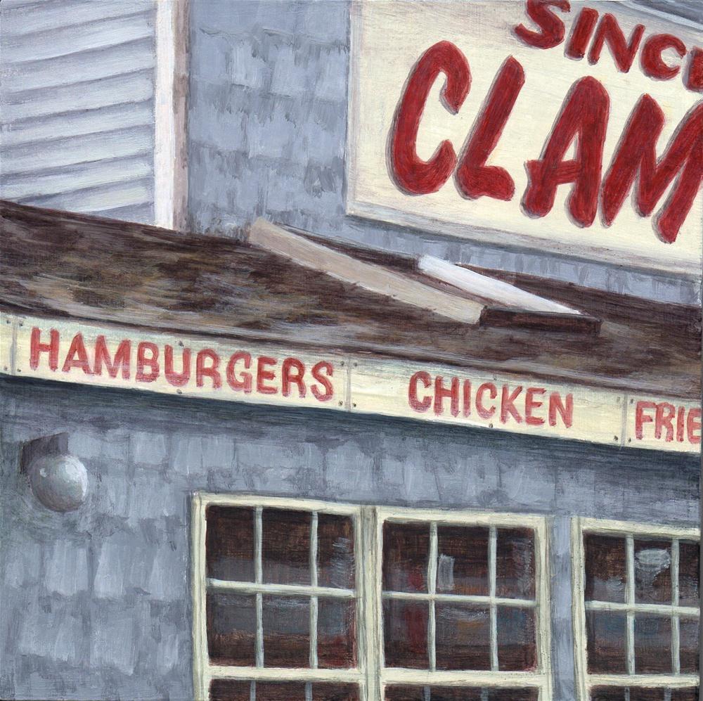 """Clams"" original fine art by Debbie Shirley"