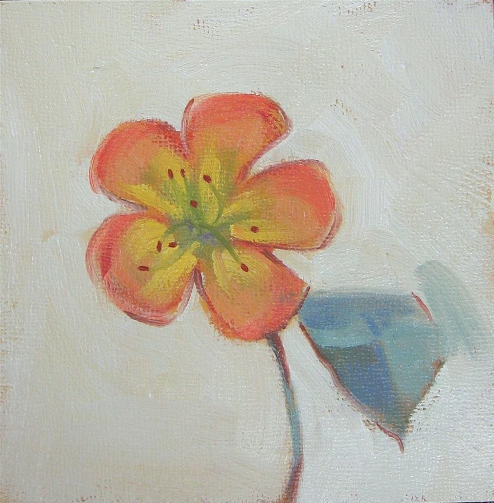"""Soft Petal: Rhododendron Floweret"" original fine art by Maresa Lilley"
