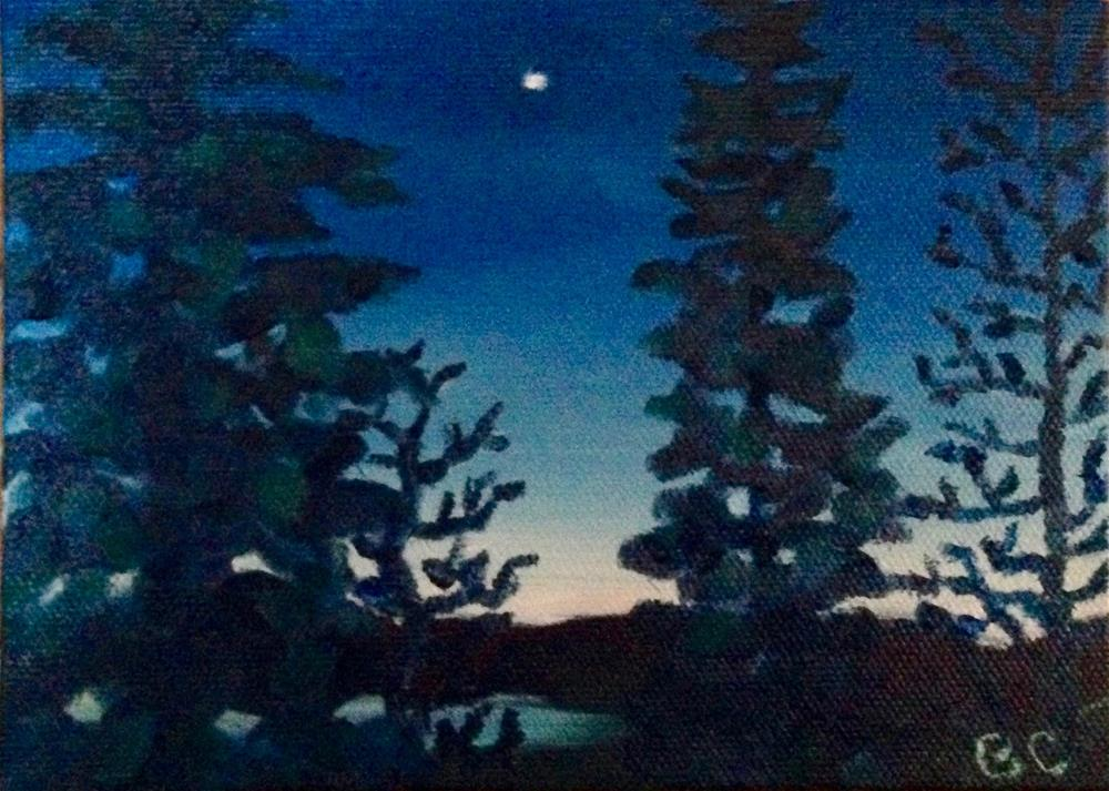 """Venus at dawn"" original fine art by Bobbie Cook"