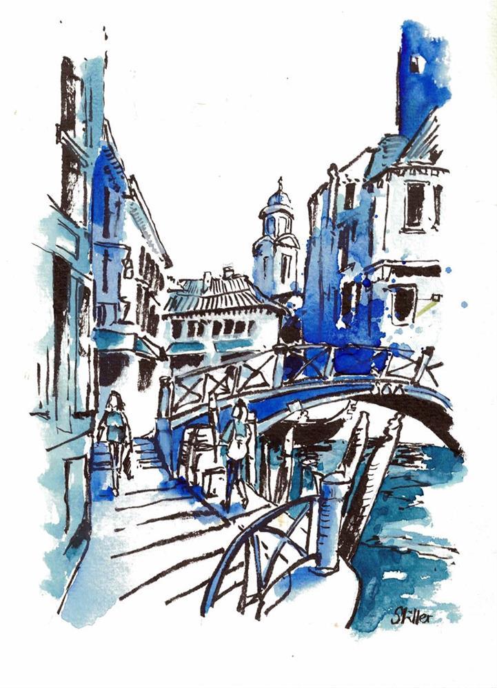 """""""3183 Blue Hour"""" original fine art by Dietmar Stiller"""