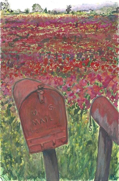 """""""Good News"""" original fine art by Laura Denning"""