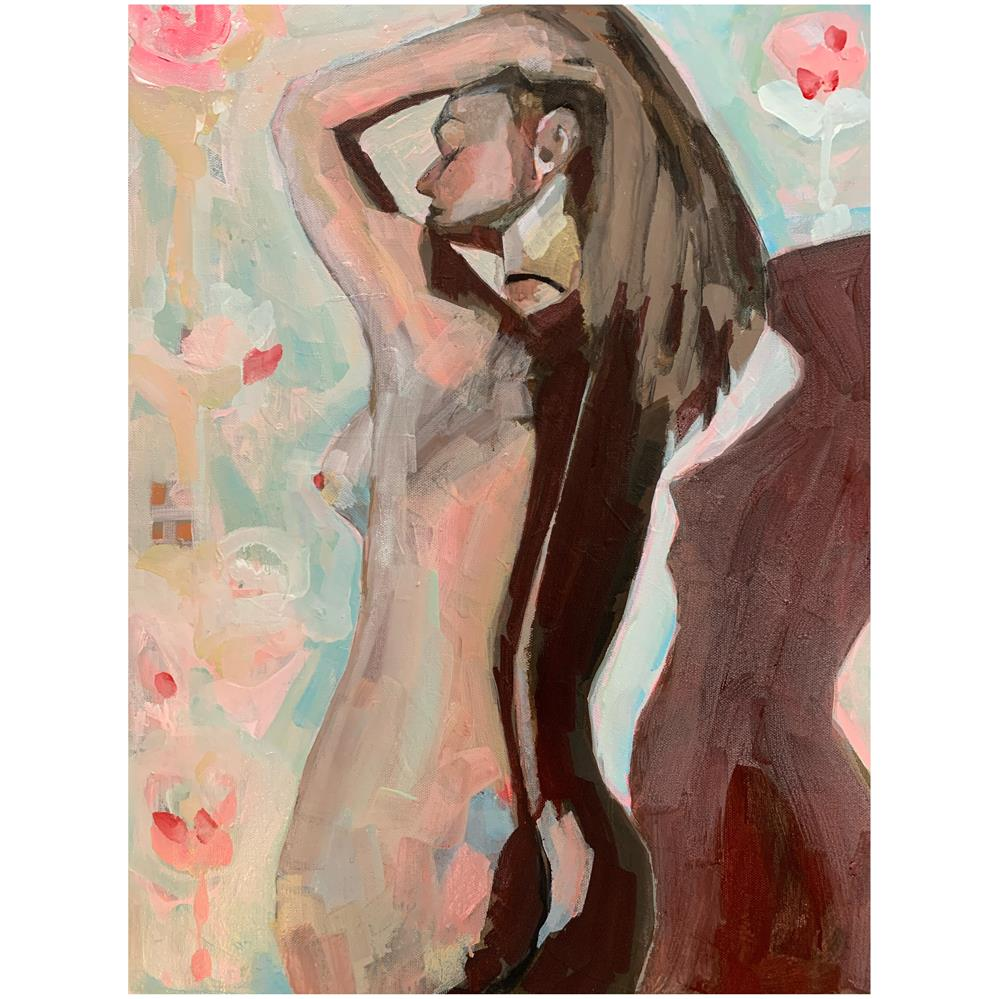 """743 Some Kind of Love"" original fine art by Jenny Doh"