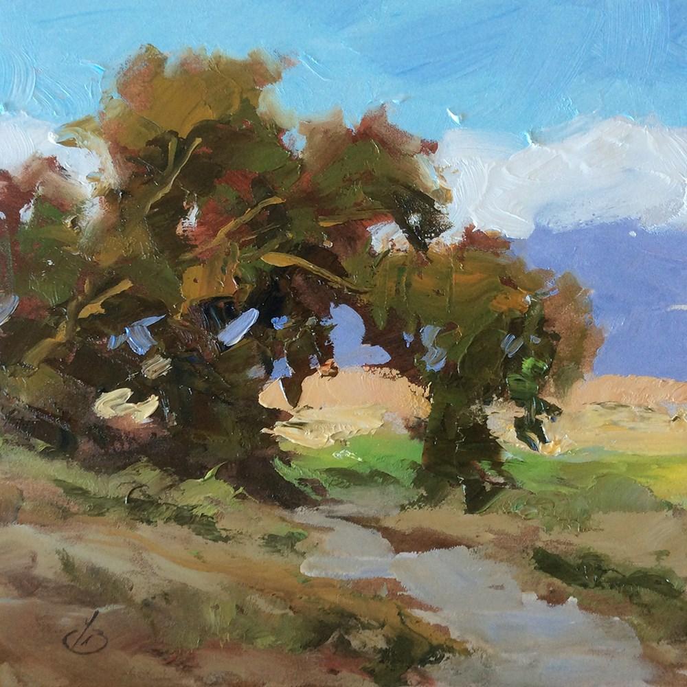 """NATURE'S ARCH"" original fine art by Tom Brown"
