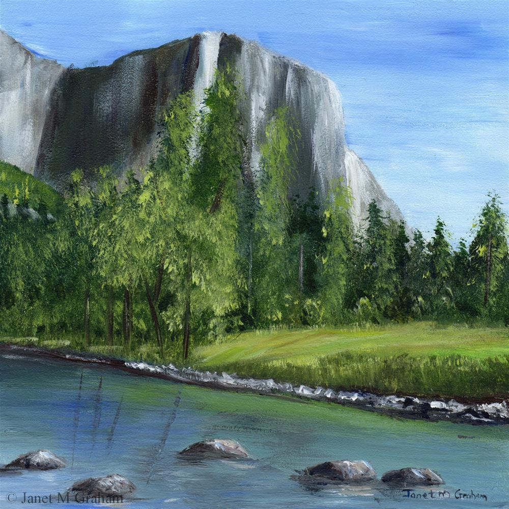 """Yosemite"" original fine art by Janet Graham"