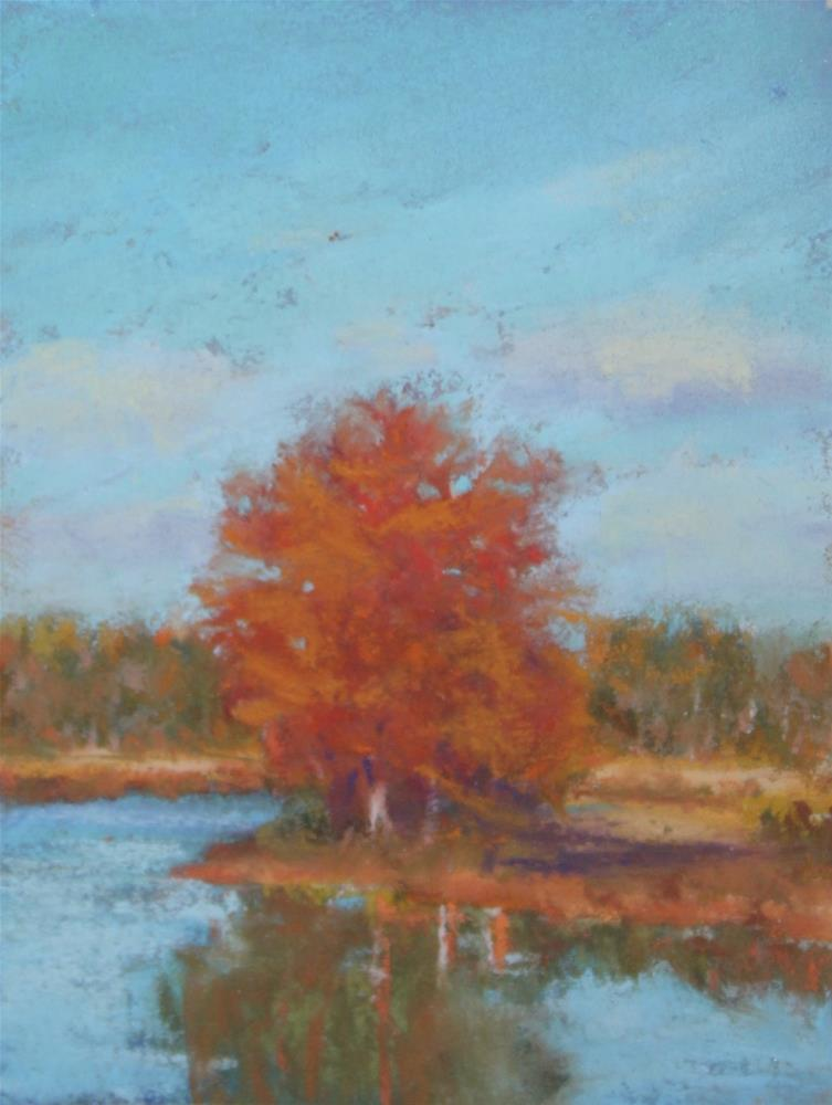 """""""Happy Color and the Value of Small"""" original fine art by Sharon Lewis"""
