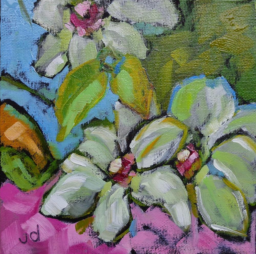 """Paradise"" original fine art by Jean Delaney"