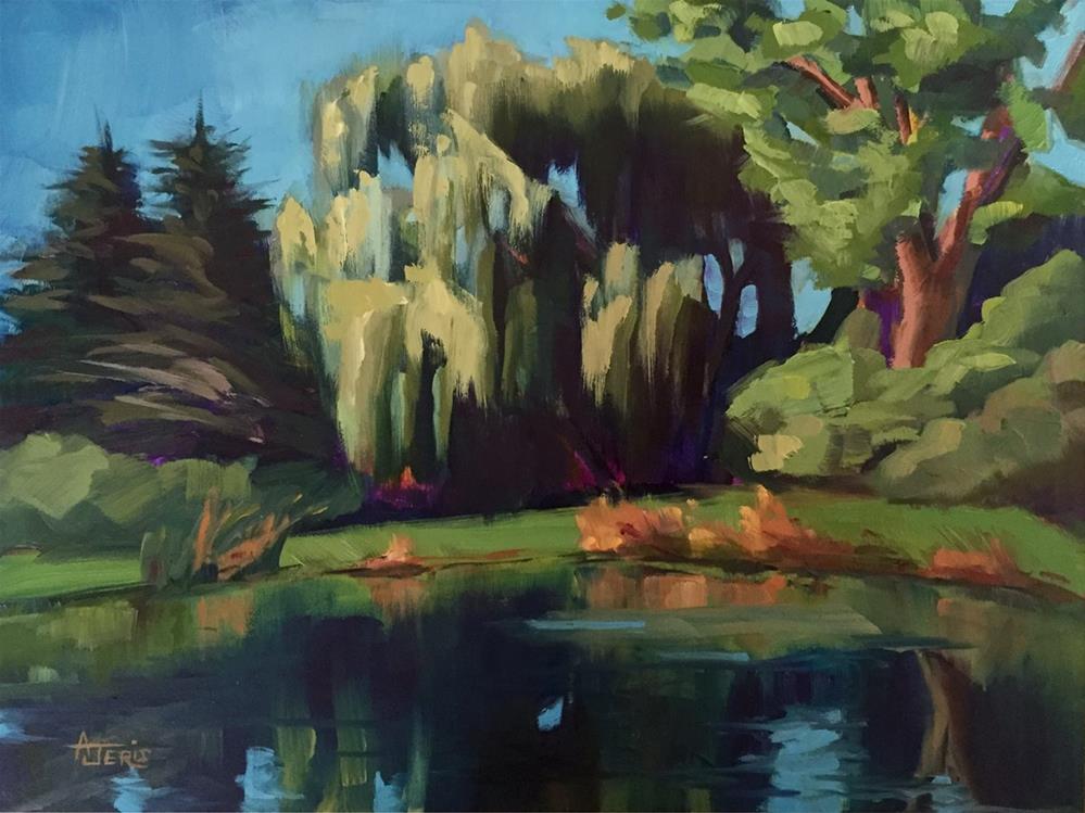 """Willow"" original fine art by Andrea Jeris"