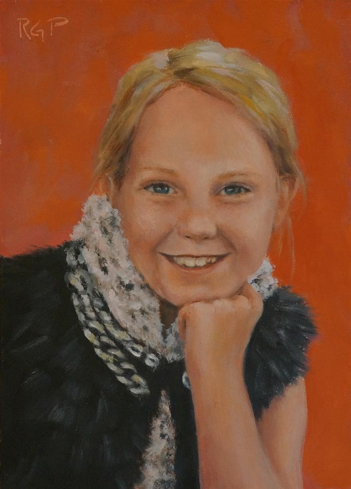 """Fashionista"" original fine art by Rhea  Groepper Pettit"