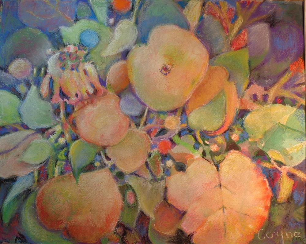 """sea grapes"" original fine art by meribeth coyne"