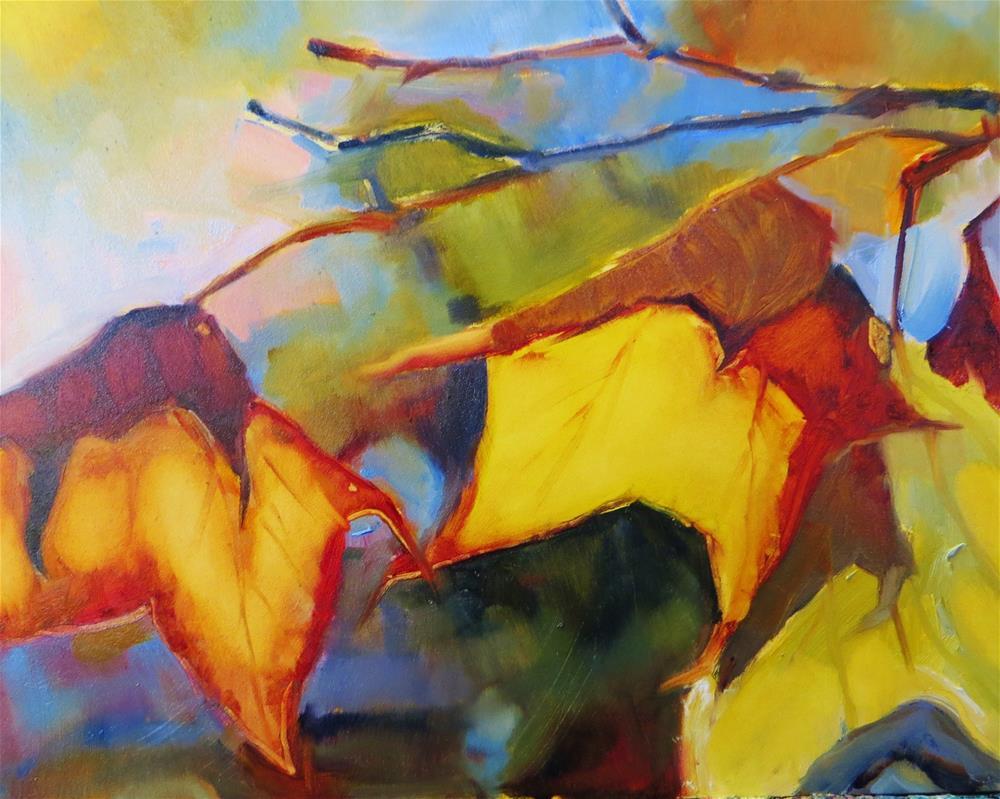 """Carol's Colors"" original fine art by Scarlet Owl Studio"