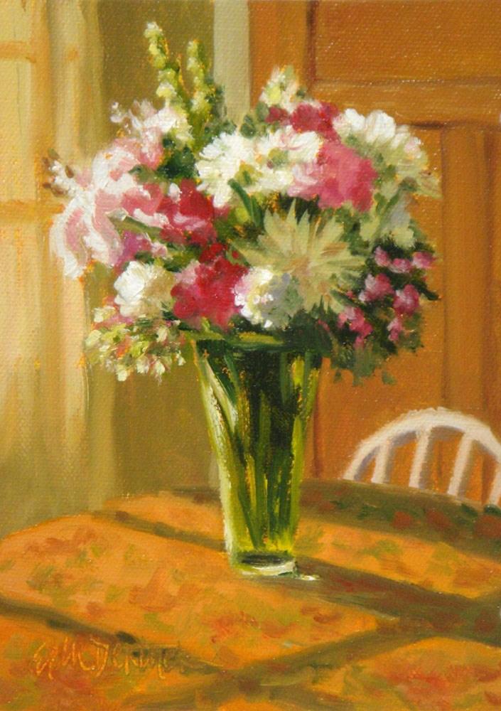 """""""Birthday Bouquet"""" original fine art by Erin Dertner"""
