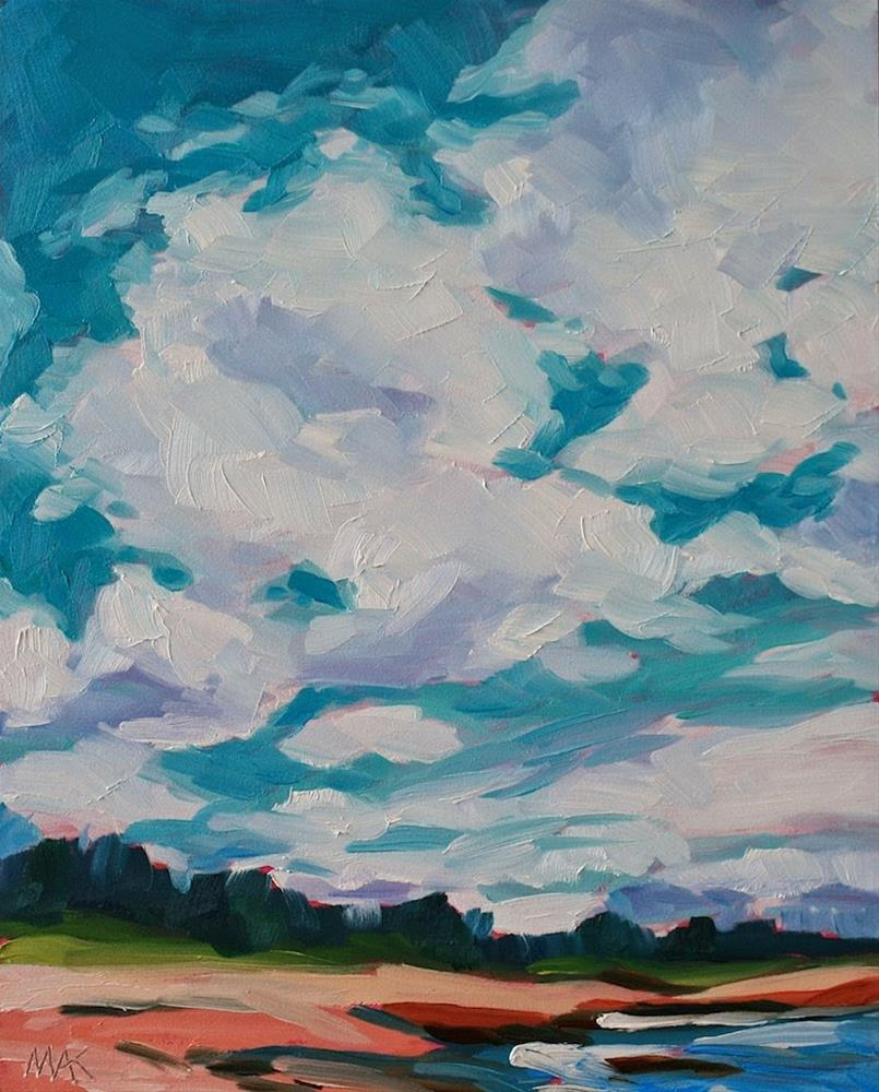 """The Sky Above"" original fine art by Mary Anne Cary"