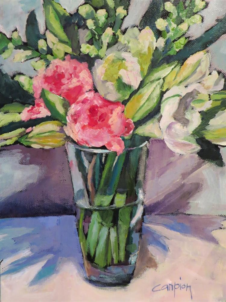 """718 Wishful Thinking"" original fine art by Diane Campion"