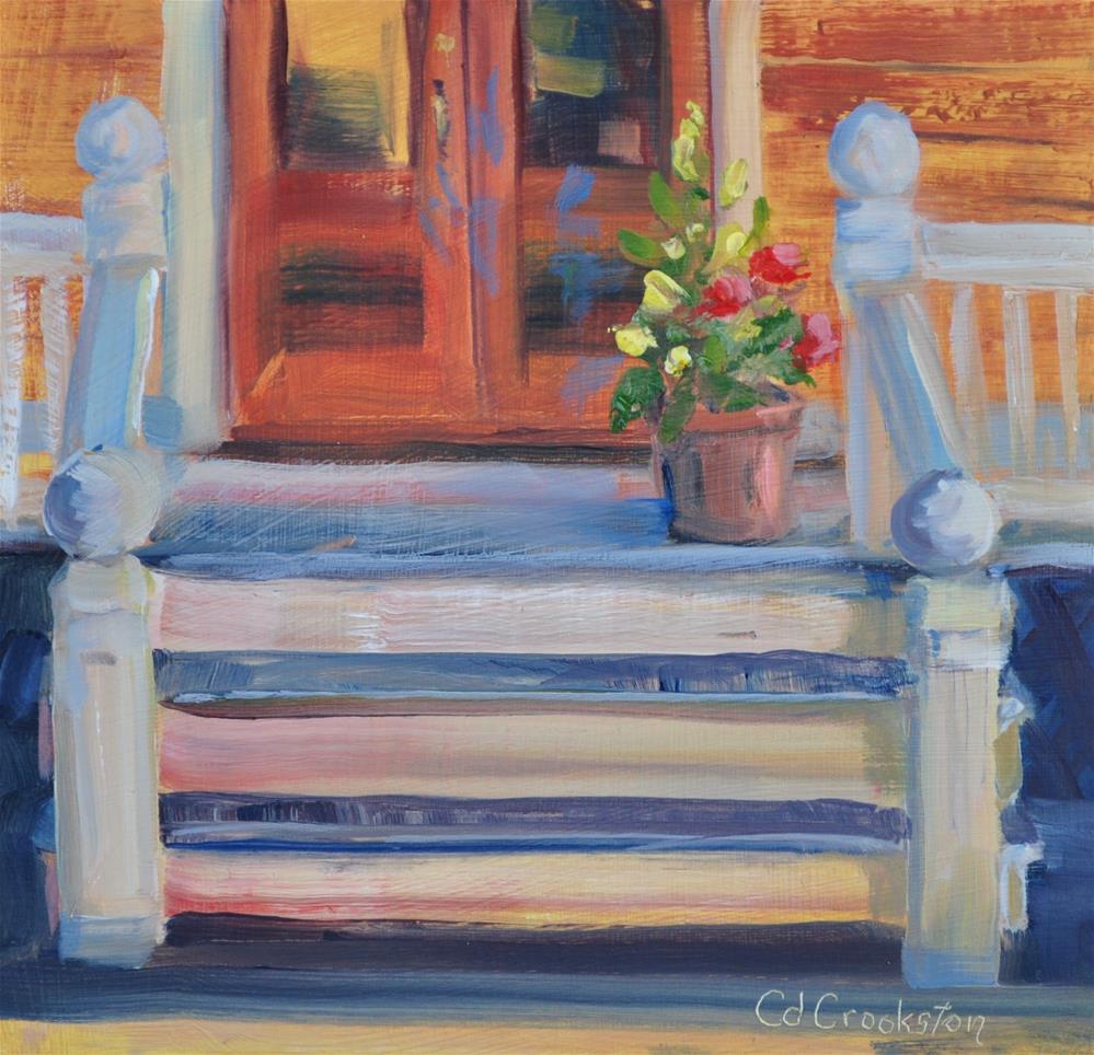 """Welcome"" original fine art by Catherine Crookston"
