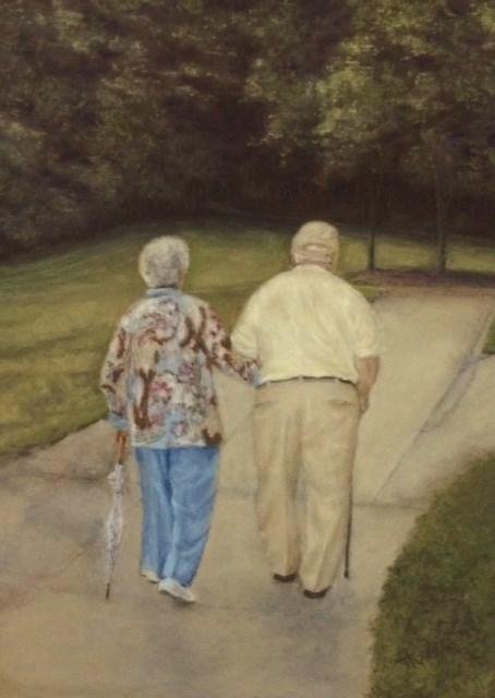 """Always and Forever"" original fine art by Christina Karras"
