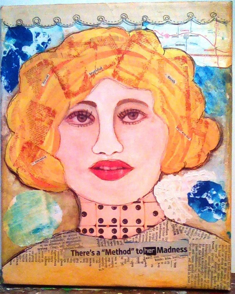 """METHOD TO HER MADNESS"" original fine art by Cindy Zoglmann"