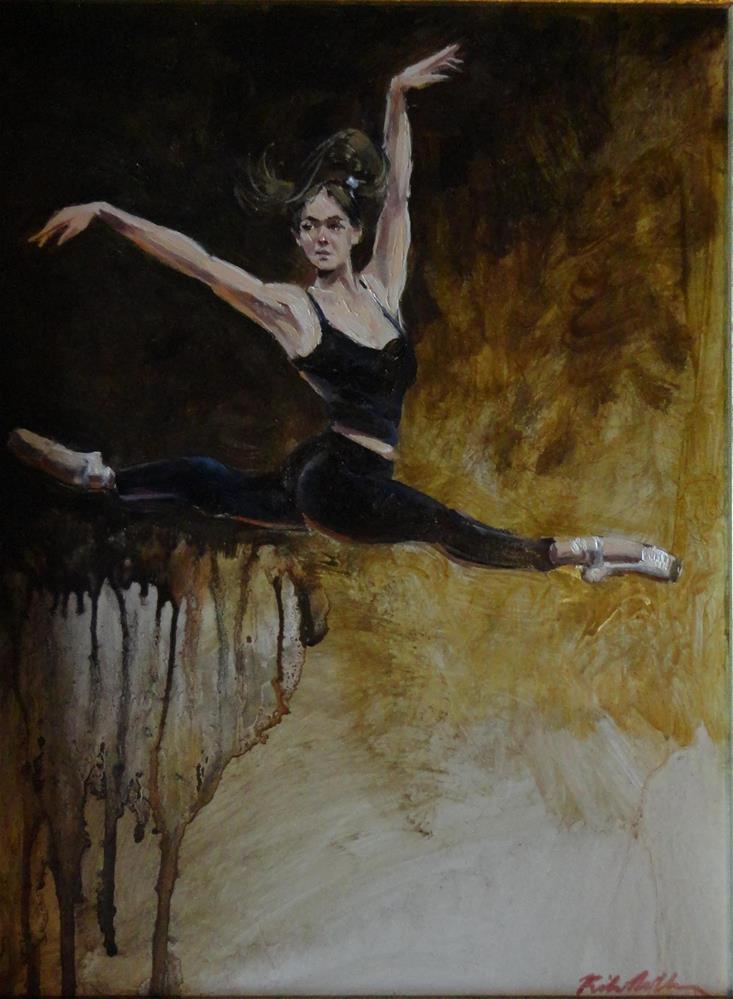 """Flying High"" original fine art by Kirk Miller"