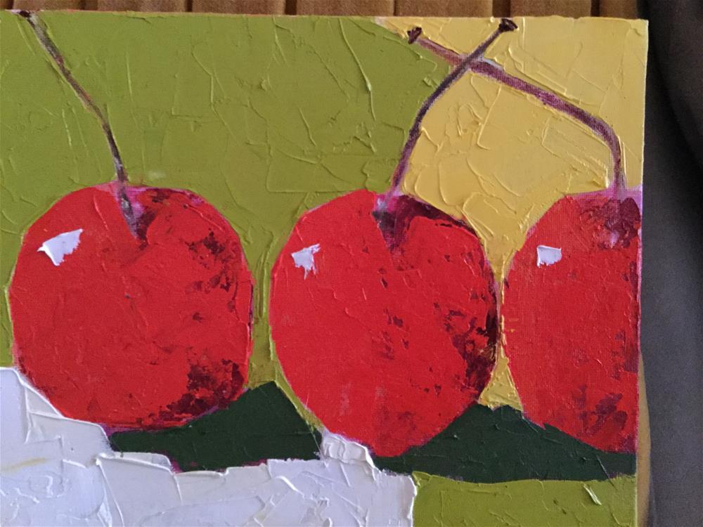 """cherry o'Leary"" original fine art by pamela kish"