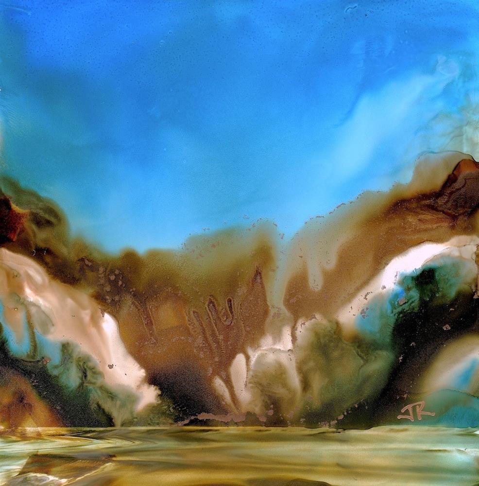 """Dreamscape No. 623"" original fine art by June Rollins"