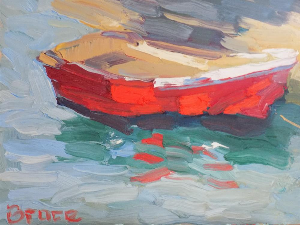 """MALO"" original fine art by Rita Brace"