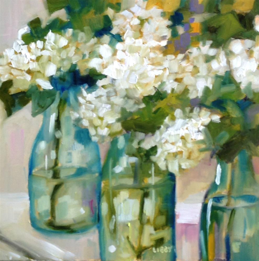 """Snowball Drama"" original fine art by Libby Anderson"