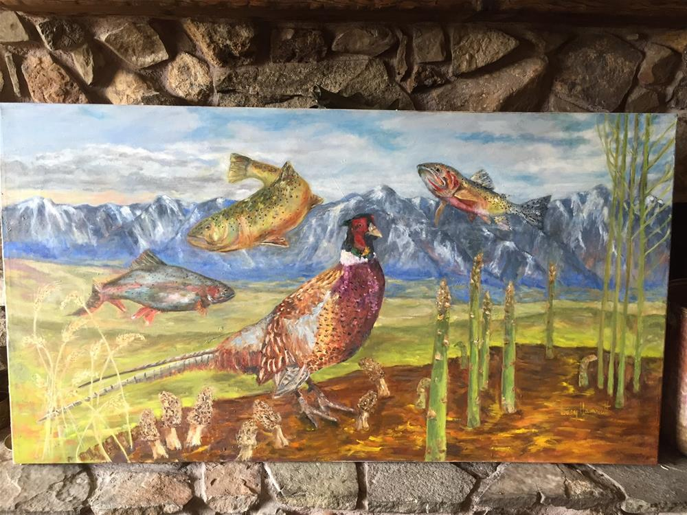 """""""KEEPING It WILD"""" original fine art by Lucy Hammett"""