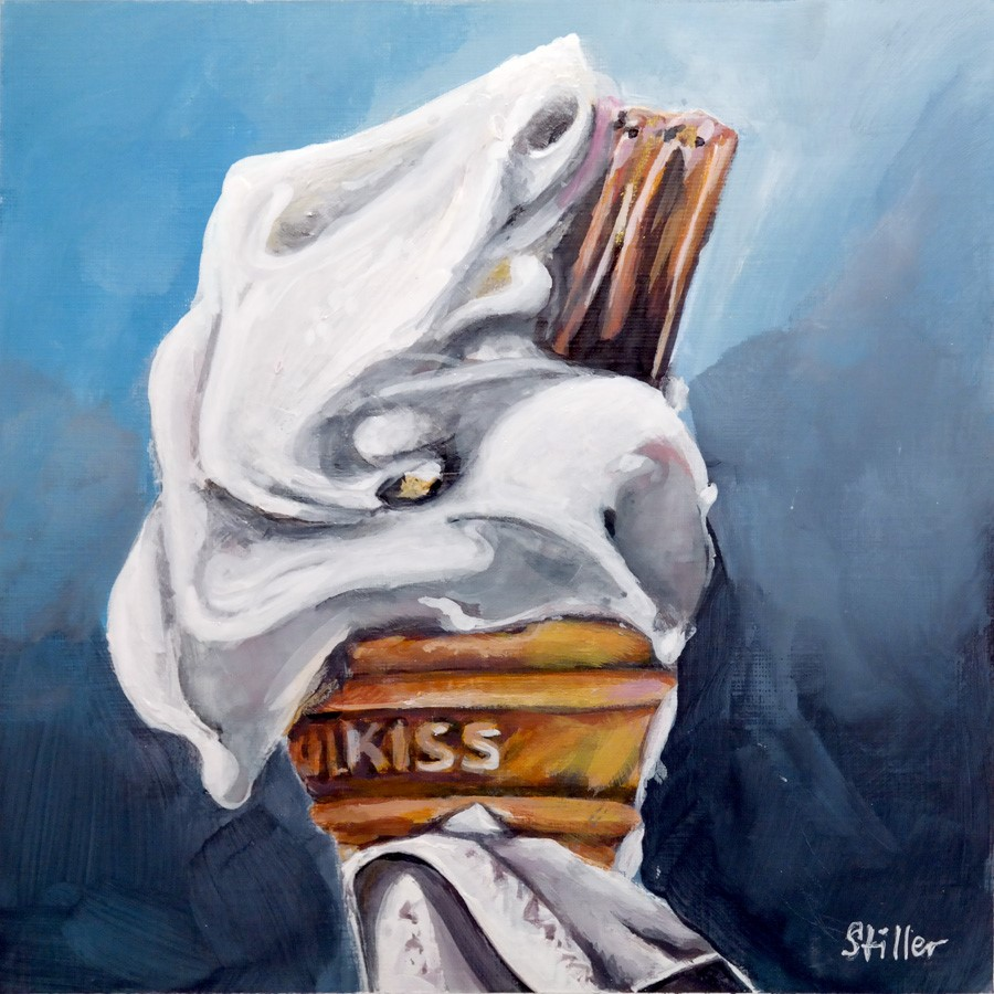 """2732 Ice-Kiss"" original fine art by Dietmar Stiller"
