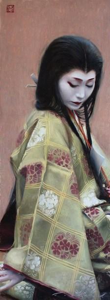 """""""Abutsu-ni"""" original fine art by Phil Couture"""