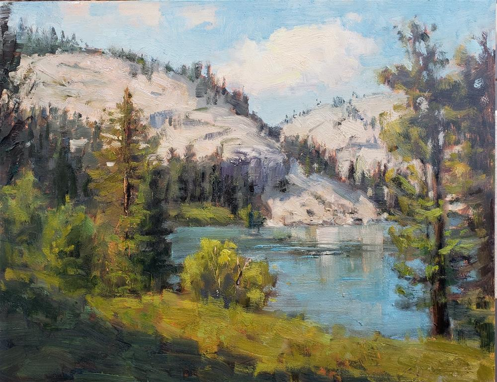 """Eagle Lake"" original fine art by Barbie Smith"