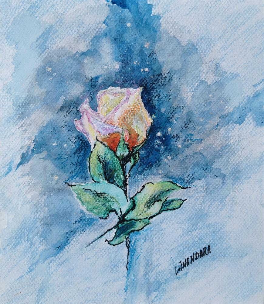 """""""Sublimation of the Rose """" original fine art by Alexandra Cook"""
