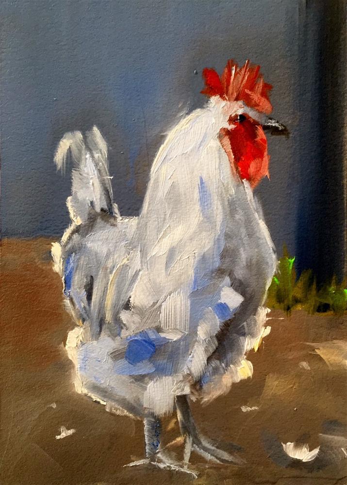 """""""Top Bird"""" original fine art by Gary Bruton"""