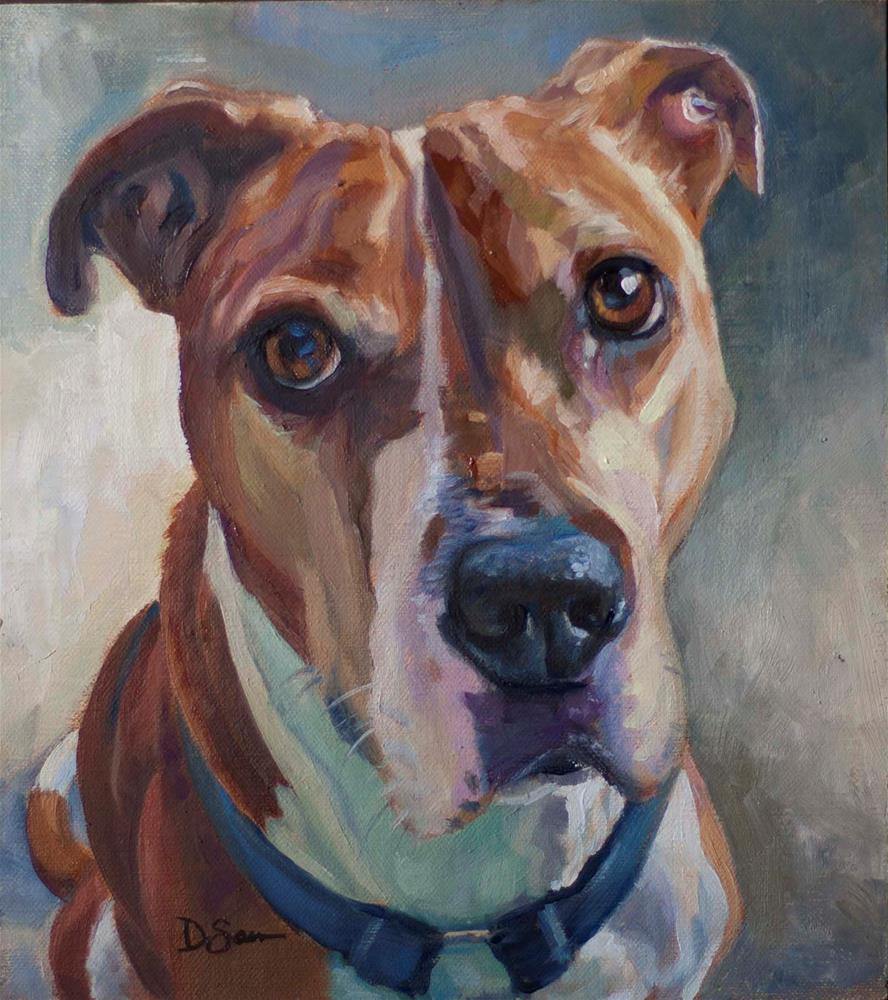 """Ginger"" original fine art by Deborah Savo"