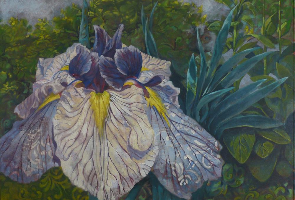 """Iris"" original fine art by Sharman Owings"